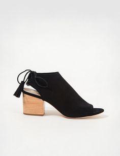 Loeffler Randall lorelei suede mule sandals at Bird : ShopBird.com