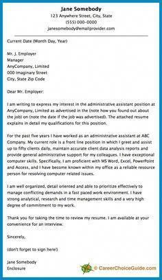 cover letter to send to recruitment agency.html