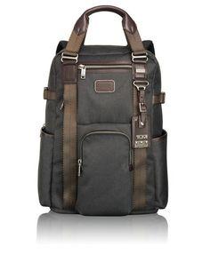 Lejeune Backpack Tote - Tumi Anthracite