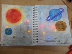 STEAM Club with Paper Circuits — [Interstella] Art teacher at my school decided. Science Art, Science Activities, Science Projects, Science And Nature, Science Experiments, Stem Science, Teaching Science, Teaching Tools, Electronic Paper
