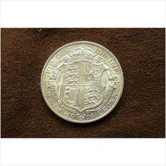 1916 George V Silver Half Crown on eBid United Kingdom