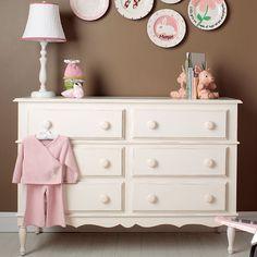 Juliana Six-Drawer Dresser from PoshTots   #PoshTotsNursery