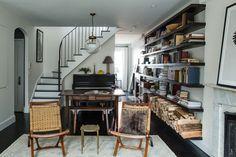 VILLAGE DUPLEX transitional-living-room