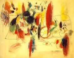 Abstract Express., Arshile Gorky, Virginal Landscape