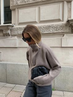 Uni Outfits, Retro Outfits, Casual Outfits, Fashion Outfits, Fall Winter Outfits, Autumn Winter Fashion, Skandinavian Fashion, Turtleneck Style, Mein Style