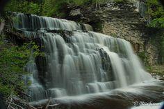 Jones Falls, Owen Sound, Ontario   by diw gallery