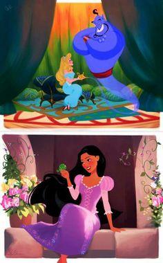 Disney swap