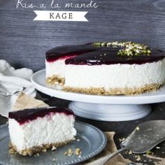 Ris a la mande kage  (recipe in Danish from Byguldahl.dk)