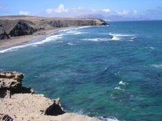 Costa Calma, Spanje: Vue depuis LA PARED