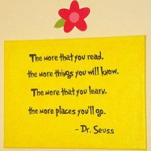 Dr Seuss Quote Baby Kids Room Decor Canvas Wall Art 11x14 ... The ...