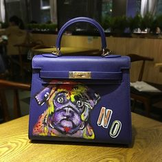 159.00$  Watch now - http://ali5gy.worldwells.pw/go.php?t=32655679450 - 2016 High quality Europe luxury handbags women bags designer Hand-painted graffiti puppy Cow split leather fashion Messenger Bag 159.00$