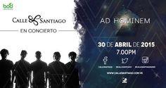 """Cresta Metálica Producciones » Calle Santiago presenta """"Ad Hominem"""" en el Centro Cultural BOD"""