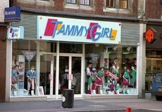 Tammy Girl. Who remembers this shop? Usually above Etam