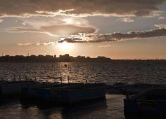 Tramonto su Mar Piccolo a Taranto. Alessandro Germano. www.alessandrogermano.eu