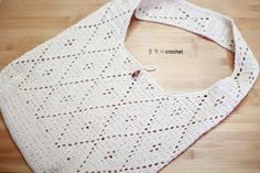 코바늘 숄더백 ( 도안 )/ 손뜨개 가방 : 네이버 블로그 Knitting Patterns, Crochet Patterns, Crochet Top, Crochet Bags, Accessories, Underwear, Women, Coin Purses, Baskets