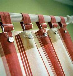 Необычные шторы для кухни своими руками
