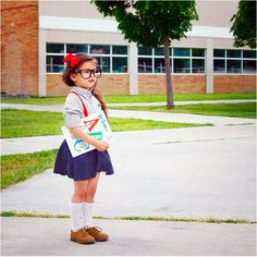In honor of nerd day at school. :) So stinkin cute:)