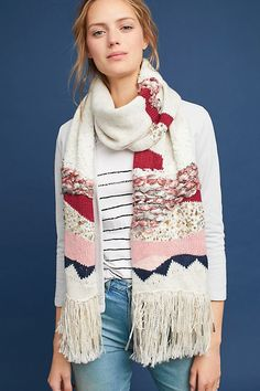 a295a804de6 Hello Hydrangea x Anthropologie Sequined Blanket Scarf