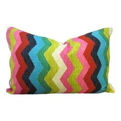 I pinned this Panama Wave Pillow I from the Zig Zag Pattern & Pop event at Joss and Main!