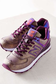 new balance women's 574 mineral glow casual sneakers nz