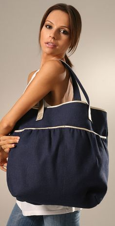 67e071eeea2e The Bag To Have  Lauren Merkin Cassie Beach Tote