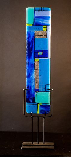 Windows Blue: Meg Branzetti, Vicky Kokolski: Art Glass Sculpture | Artful Home
