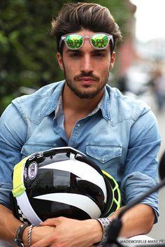 Mariano Di Vaio at Milan Fashion week