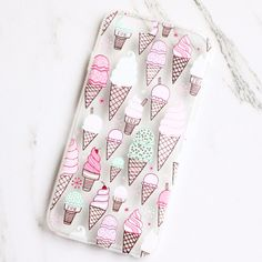 Pastel Ice Cream Cone iPhone Case