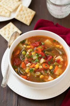 Winning Recipes: The Most Shared Vegetable Soup Recipes