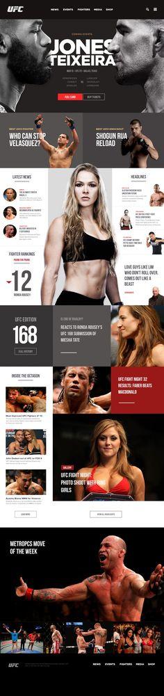 UFC REDESIGN Concept