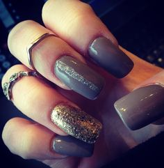 #longnails #glitter #naildesign #fall  Brittany