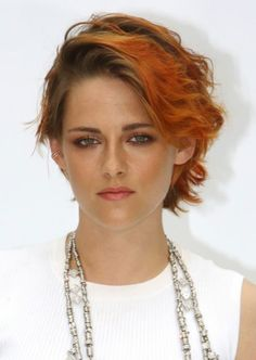 Kristen Stewart ...short hair, don't care!