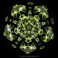 CYMATICS MagicAqua - cymatic watersoundimages - watersoundmandalas of cosmic tones, voices, music and more. Glass Bead Game, Sound Art, Sound Healing, Healing Meditation, Sacred Geometry, Cosmic, Beads, Rings, Halo