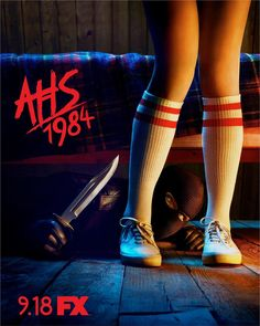 """Jingles Prepares to Slice an Achilles Tendon on New Poster for """"American Horror Story: Ahs, George Orwell, Horror Movie Posters, Horror Movies, Disney Channel, American Horror Story Movie, Cartoon Network, Netflix Horror, Slasher Movies"""