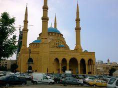 Lebanon-Beirut-Hariri Mosque