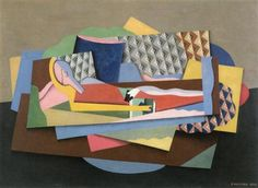 Reclining Woman - Georges Valmier