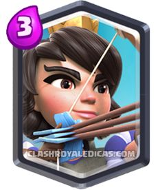 Princesa Clash Royale Carta