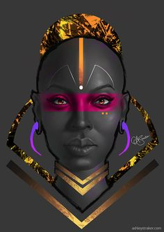 We Are Wakanda   WAW Media - wearewakanda: Featured artist: Ashley Straker WΛW...