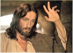 "Robert Powell as Jesus from ""Jesus of Nazareth"" (1977)"