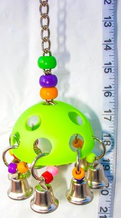 Bell Rover - Parrot Toys & Bird Toy Parts by A Bird Toy on Etsy, $6.95