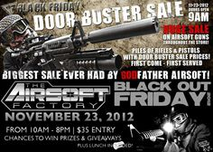 Godfather Airsoft Black Friday 2012 Deals