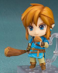 Crunchyroll - Link: Breath of the Wild Deluxe Version Nendoroid - The Legend of Zelda: Breath of the Wild