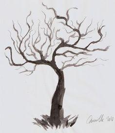 dessiner un arbre sans feuilles dessin pinterest arbre sans feuille dessiner et dessin. Black Bedroom Furniture Sets. Home Design Ideas