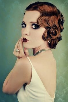 cute pin curls