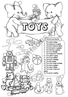 Matching and colouring for young learners. Punctuation Worksheets, Measurement Worksheets, First Grade Worksheets, Vocabulary Worksheets, School Worksheets, Worksheets For Kids, Printable Worksheets, Free Printable, Printables