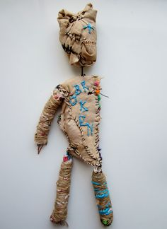 emma parker, stitch therapy, inspired by Michel Nedjar                                                                                                                                                                                 More