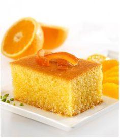 Portakallı İrmikli Kek Tarifi