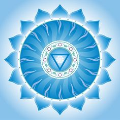 The Throat Chakra is the chakra of communication, self expression and judgment. Also known as the Vishuddha, this Chakra rules self expression and speaking one's truth, the written word, poetry, faith, and will power.