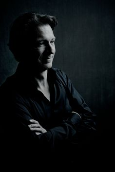 Chief conductor of the Netherlands Philharmonic Orchestra|Netherlands Chamberorchestra. Portrait by Marco Borggreve.