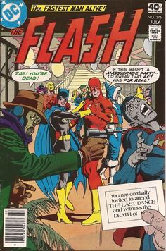 """The Flash #275, """"The Last Dance!"""" (July 1979)   17 Iconic """"The Flash"""" Covers That Fans Of The TV Show Should Own"""